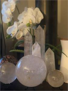 High quality Crystal Towers and Spheres