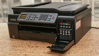 Brother MFC-J470DW Wireless Inkjet All in One Printer Scanner - $100
