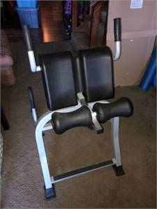 Back/Abs Stretching and Workout Machine