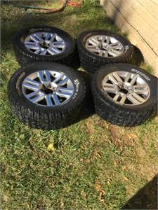 """20"""" Toyota Rims and Tires"""