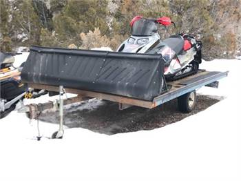 Ski Doos - Summit 800 and 600 with Trailer