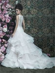 Allure Bridals Couture Wedding Gown- Like New - $1600