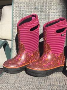 Bogs Boots Girls Size 10