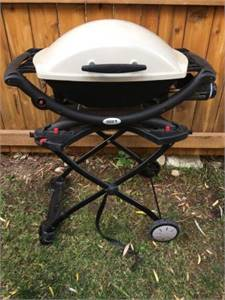 Weber Q2000 Portable Grill with Stand, Cover & more