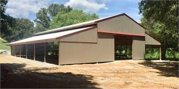 Steel Trusses and Pole Barns
