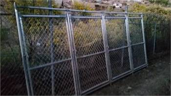 6ft tall chain link gate Dog kennel gates