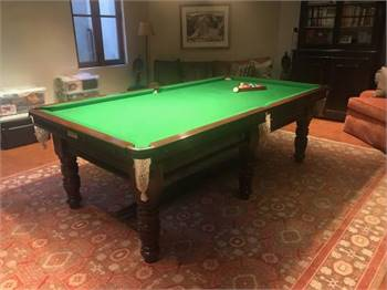 Antique 8' Pro Pool Table