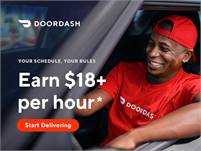 Earn Up To $18/hr - Be Your Own Boss - DoorDash Driver